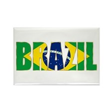 Brazil Rectangle Magnet