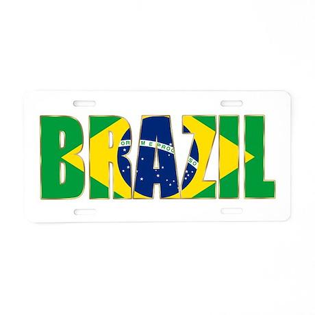 Brazil Aluminum License Plate
