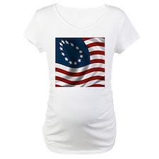 Wavy Betsy Ross Flag Shirt