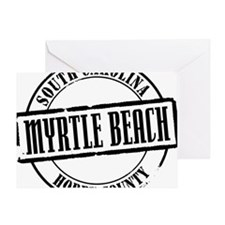 Myrtle Beach Title Greeting Card
