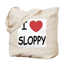 I heart SLOPPY Tote Bag