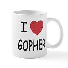 I heart GOPHER Mug