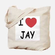 I heart JAY Tote Bag
