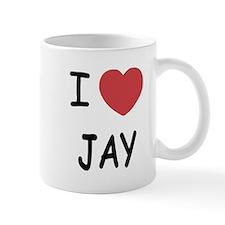 I heart JAY Mug