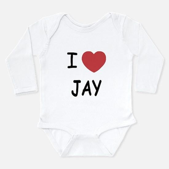 I heart JAY Long Sleeve Infant Bodysuit