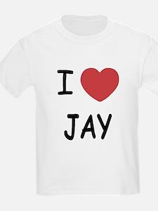 I heart JAY T-Shirt