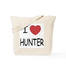 I heart HUNTER Tote Bag