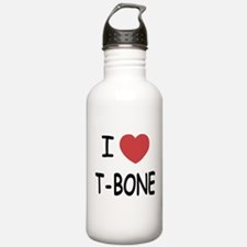 I heart T-BONE Water Bottle