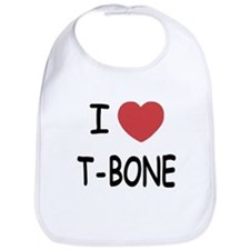 I heart T-BONE Bib