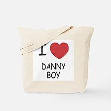 I heart DANNY BOY Tote Bag