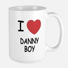 I heart DANNY BOY Large Mug