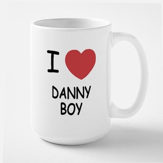 I heart DANNY BOY Large Mug