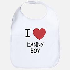 I heart DANNY BOY Bib