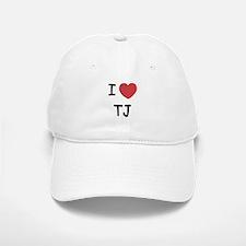 I heart TJ Baseball Baseball Cap