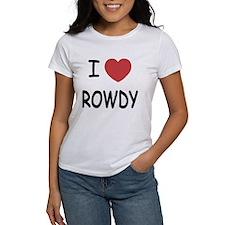 I heart ROWDY Tee