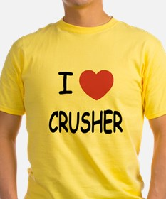I heart CRUSHER T