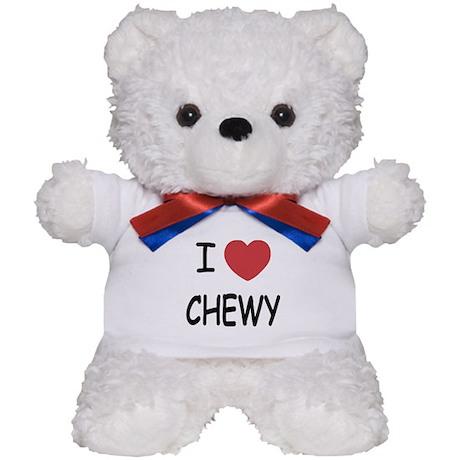 I heart CHEWY Teddy Bear