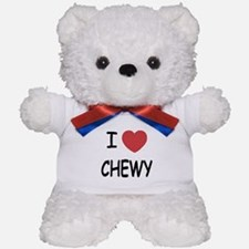 I heart CHEWY Teddy Bear