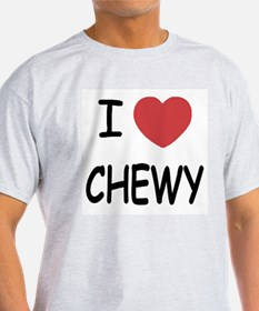 I heart CHEWY T-Shirt
