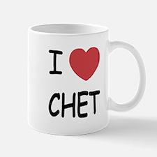 I heart CHET Mug