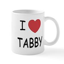 I heart TABBY Mug