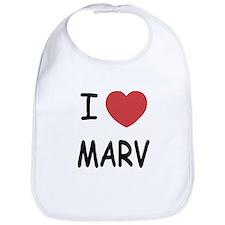 I heart MARV Bib