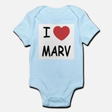 I heart MARV Infant Bodysuit