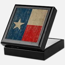 Vintage Texas Flag Keepsake Box