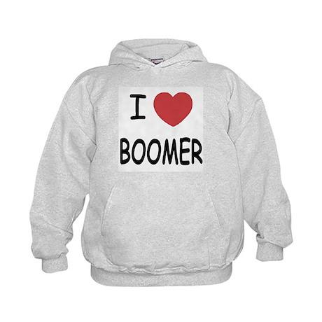 I heart BOOMER Kids Hoodie