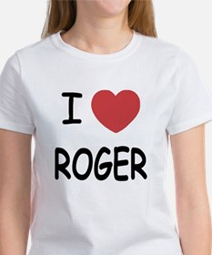 I heart ROGER Women's T-Shirt