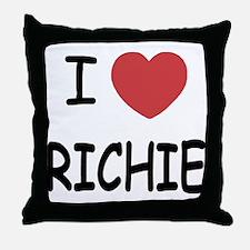 I heart RICHIE Throw Pillow