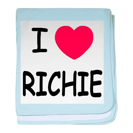 I heart RICHIE baby blanket