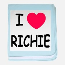 I heart RICHIE baby blanket