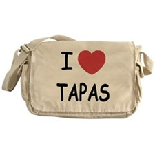 I heart tapas Messenger Bag