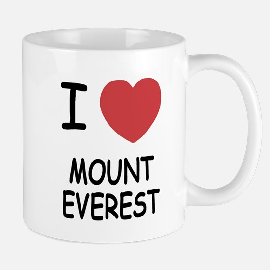 I heart mount everest Mug