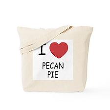 I heart pecan pie Tote Bag