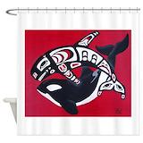 Tlingit Shower Curtains