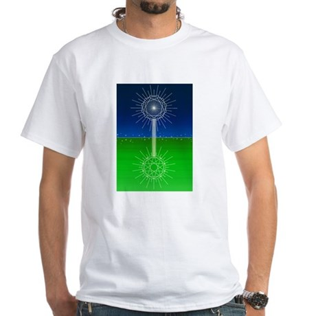 Star Child Master.jpg White T-Shirt