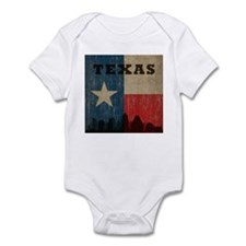 Vintage Texas Skyline Infant Bodysuit