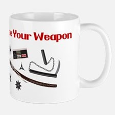 Choose Your Weapon Mug