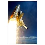 Nasa shuttle launch Posters