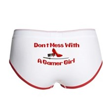 Dont Mess With A Gamer Girl Women's Boy Brief