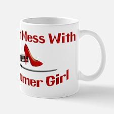 Dont Mess With A Gamer Girl Mug