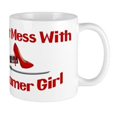 Dont Mess With A Gamer Girl Mug