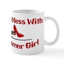 Dont Mess With A Gamer Girl Small Mug