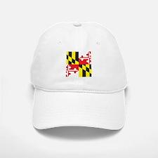 Maryland Flag Baseball Baseball Cap