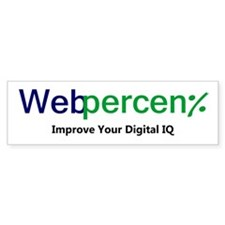 WebPercent Bumper Sticker