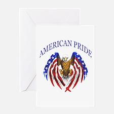 American Pride Eagle Greeting Card