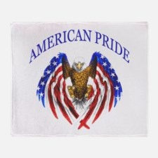 American Pride Eagle Throw Blanket