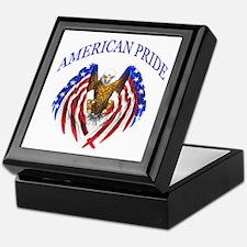 American Pride Eagle Keepsake Box